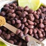 Purees 101 – Black Beans