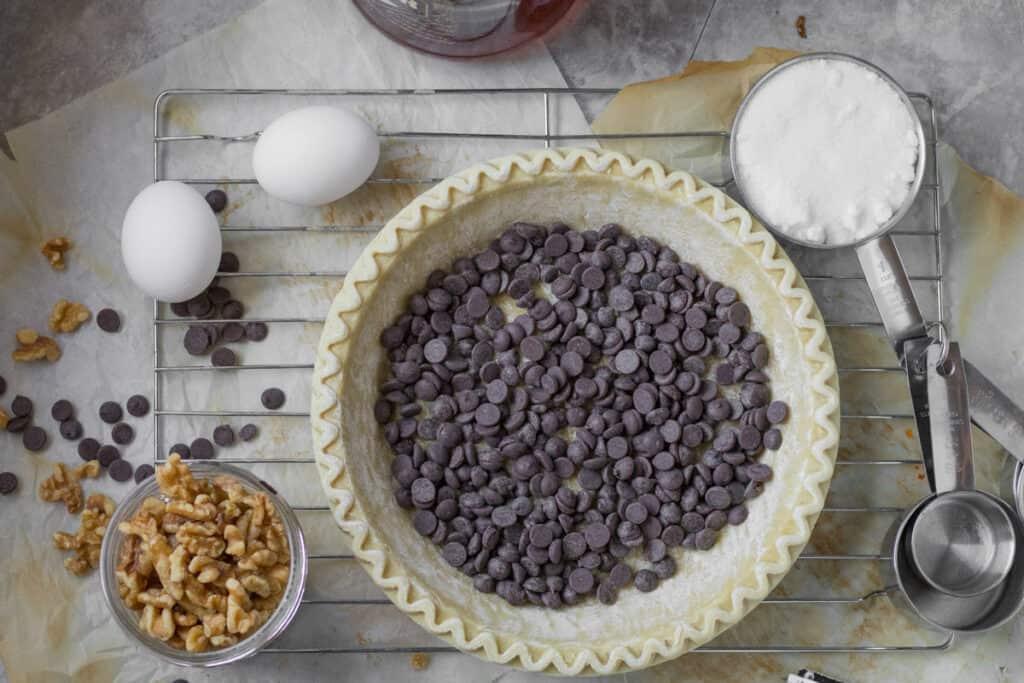 ingredients for derby pie