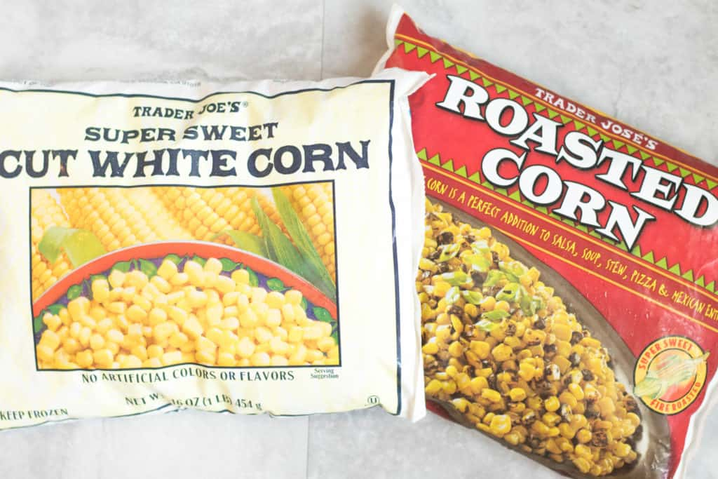 trader joes frozen corn in packages