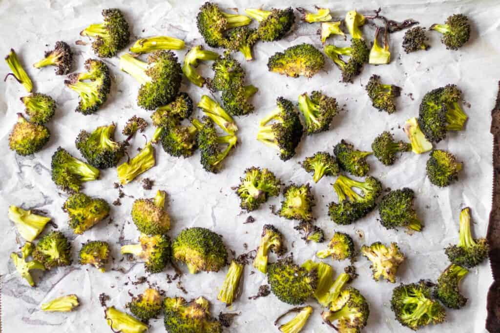 crunchy roasted broccoli